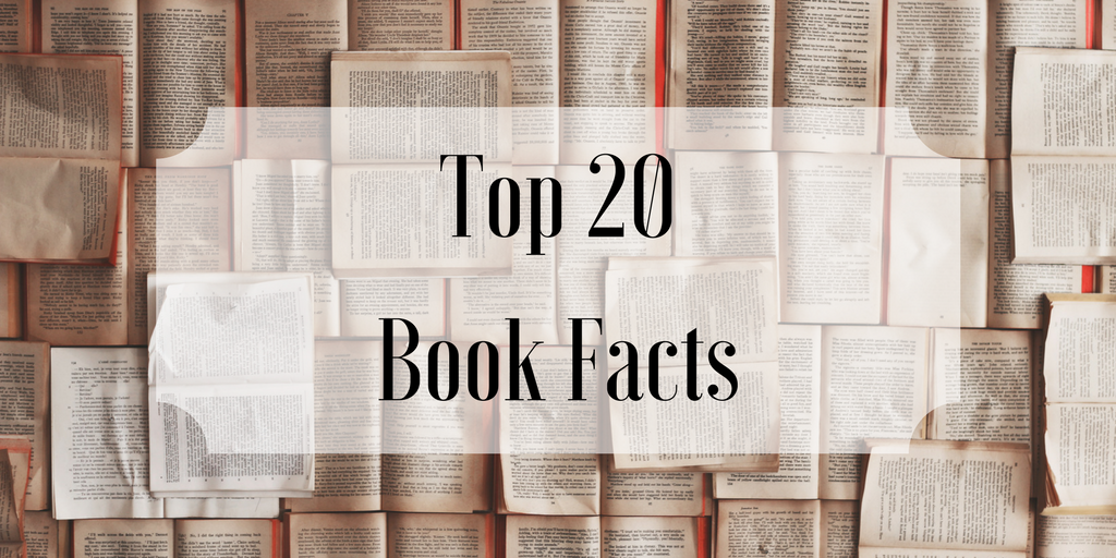 Top 20 Book Facts